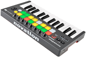 คีย์บอร์ด Novation Launchkey Mini MKII USB MIDI Controller